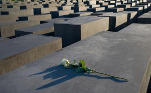 O memorial aos judeus mortos na Europa, em Berlim
