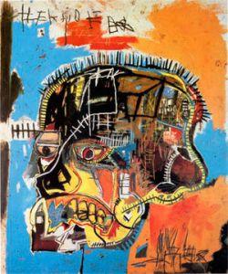"""Untitled (Skull)"" (1984) de Jean-MIchel Basquiat"