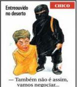 Charge de Chico Caruso no jornal O Globo de 08/03/2015